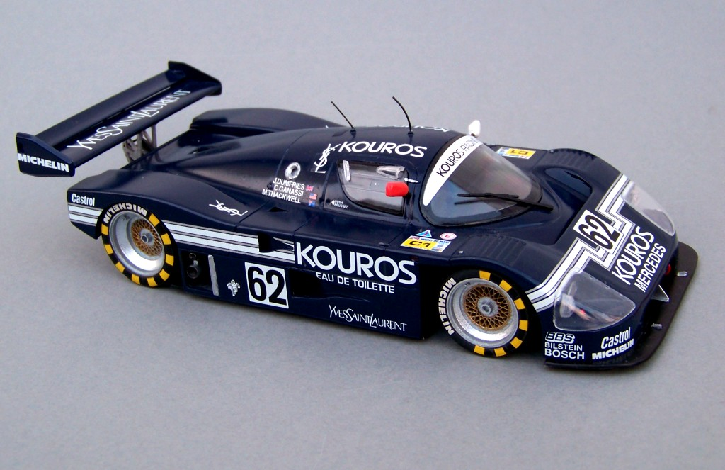 sauber c9 kouros revell 1 24. Black Bedroom Furniture Sets. Home Design Ideas